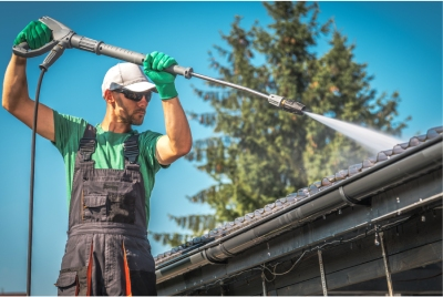 Red Deer and Central Alberta Commercial pressure washing services