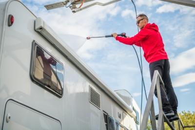Red Deer Pressure Washing services - RVs and Trailers