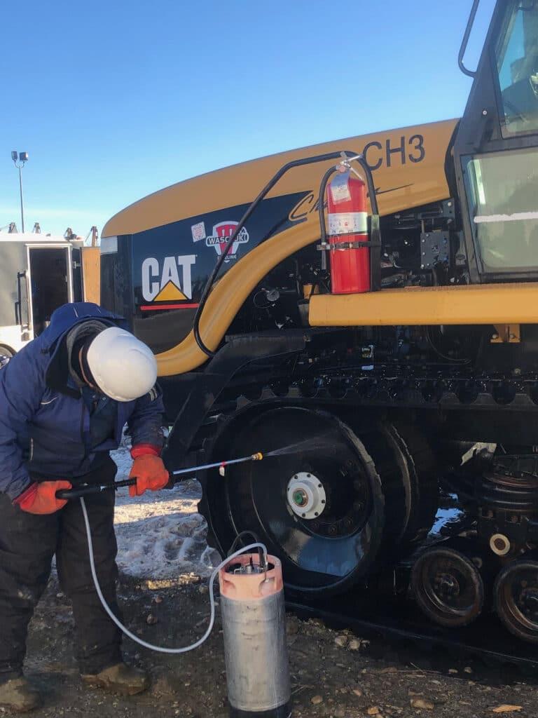 Red Deer Industrial Pressure Washing Equipment Cleaning